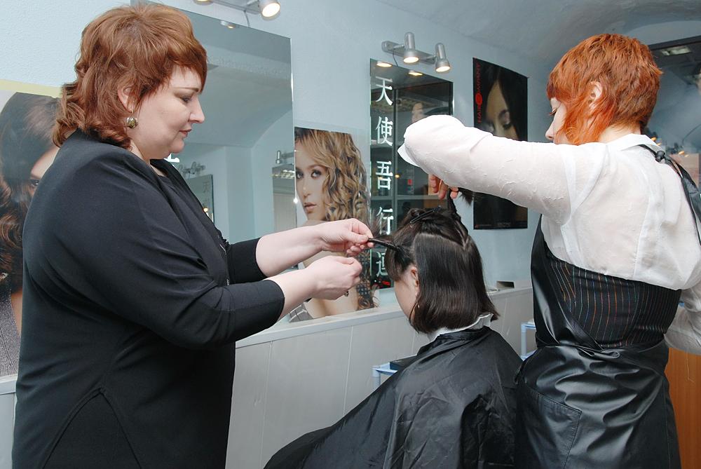 Школа парикмахеров мастер класс сделай сам #2